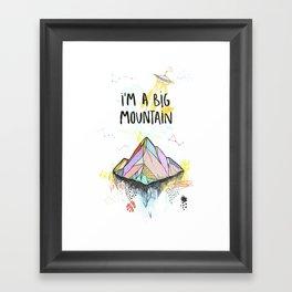 Big Mountain Framed Art Print