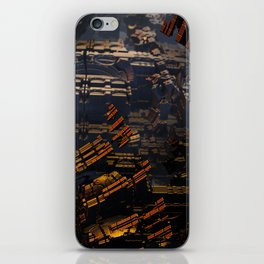 Shattered Fortress iPhone Skin