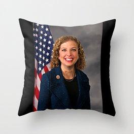 Debbie Wasserman Schultz Throw Pillow