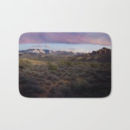 Dusk at Arches National Park Moab, UT Bath Mat