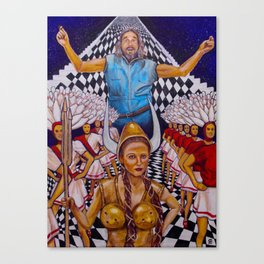 Lebowski Bowling Dream Canvas Print