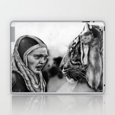 In the Eye of the Tiger Laptop & iPad Skin