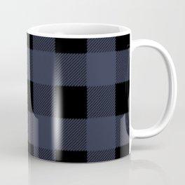 Blue Buffalo Plaid Coffee Mug