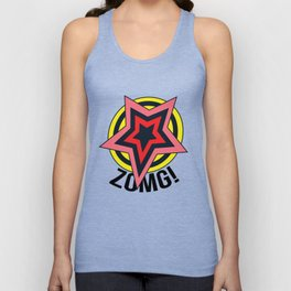 ZOMG! Anime Cosplay with Stars Unisex Tank Top