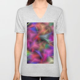 jumbled Fantasy Unisex V-Neck