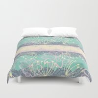 once upon a  time Duvet Covers featuring Once Upon A Time by Alice Perry Designs