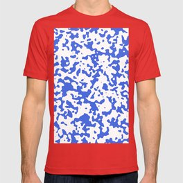 Spots - White and Royal Blue T-shirt