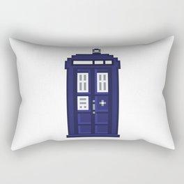 8-bit TARDIS Rectangular Pillow