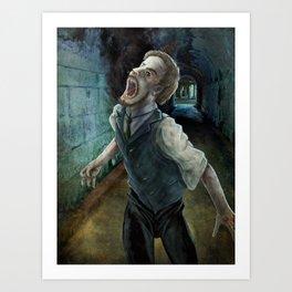Curse of Possession Art Print