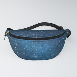 Constellation Star Map Fanny Pack
