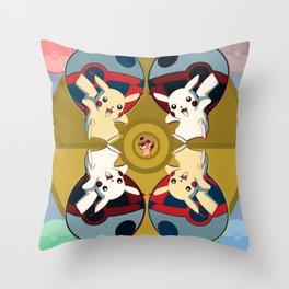 Poketron II Throw Pillow