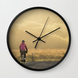To the sunrise Wall Clock