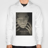 frankenstein Hoodies featuring Frankenstein by James Northcote