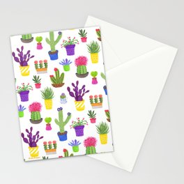 The Potted Cactus Stationery Cards