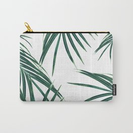 Green Palm Leaves Dream #2 #tropical #decor #art #society6 Carry-All Pouch