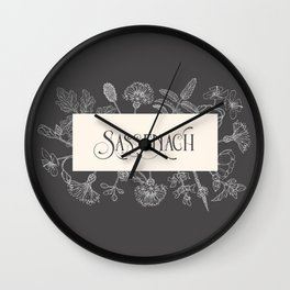 Sassenach Wall Clock