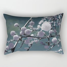 Round Buds Rectangular Pillow