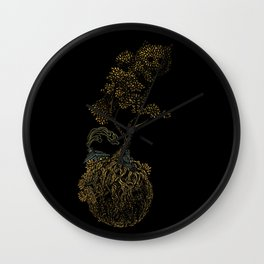 Lonely Planet Wall Clock