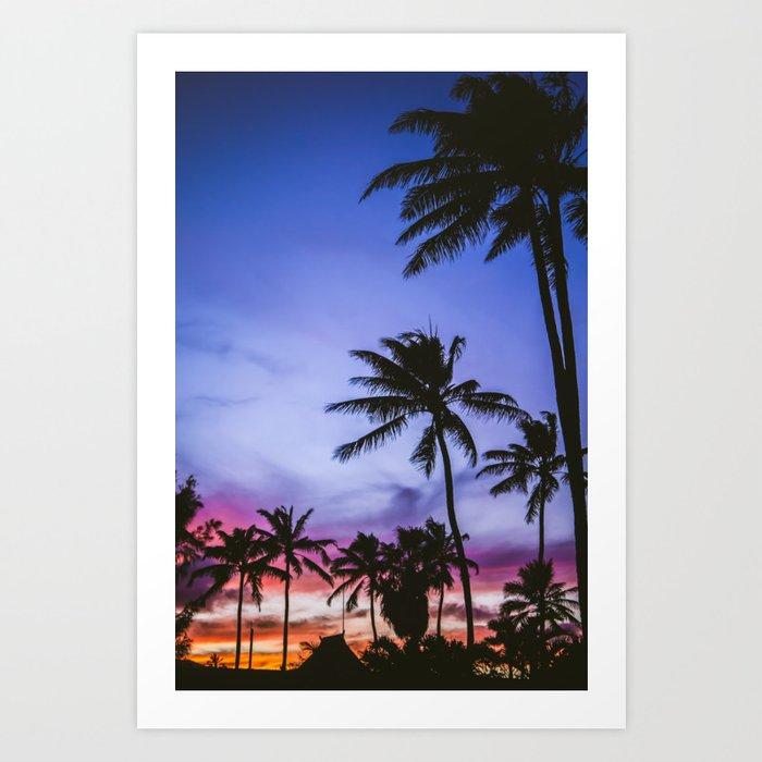 Hawaiian Sunset Kunstdrucke