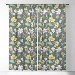 Bali Jungle Sheer Curtain