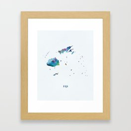 Fiji Framed Art Print