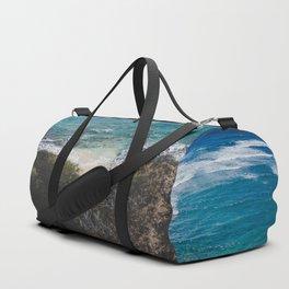 Surfer meets Sea - Diamond Head / Oahu / Hawaii Duffle Bag