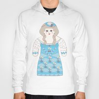 marie antoinette Hoodies featuring Marie Antoinette by Late Greats by Chen Reichert