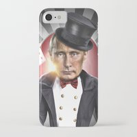 putin iPhone & iPod Cases featuring PUTIN  by NOXBIL
