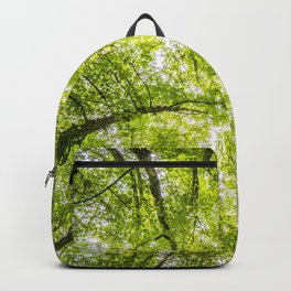 SCENERY 24 - Green Tree Forest Leaf Nature Backpack