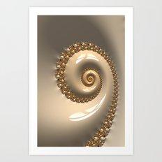 Fractal Shell Art Print