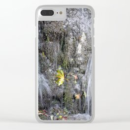 small watercourse, color photo Clear iPhone Case