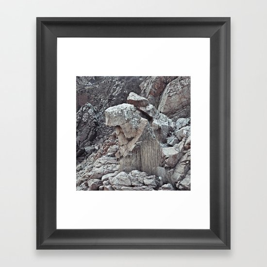 Kullamannen Framed Art Print