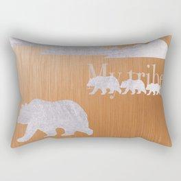 Bronze Tribe Rectangular Pillow