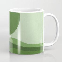 Green Sea Coffee Mug