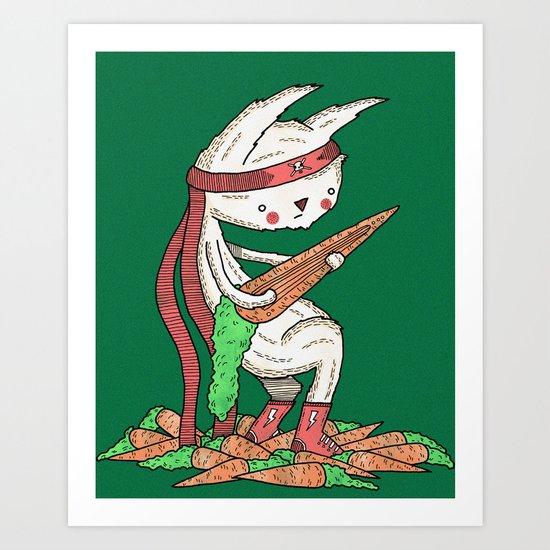 Carrotrock Art Print
