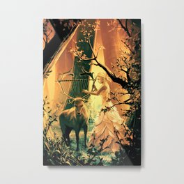 Feral Strings Metal Print