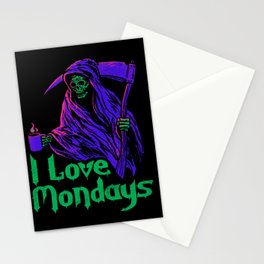 I Love Mondays Stationery Cards