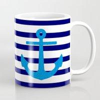 sail Mugs featuring Sail by M Studio