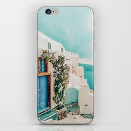 Holiday Home #travel #photography iPhone Skin