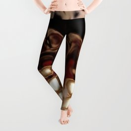 Christmas Cookie Dough Liquid Art Leggings
