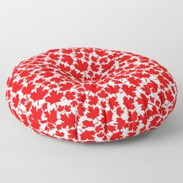 Canadian fall / Canadian flag maple leaf pattern Floor Pillow