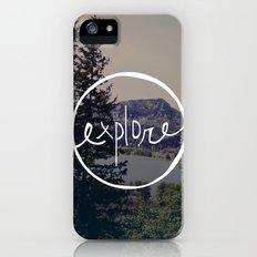 Explore Oregon iPhone (5, 5s) Slim Case