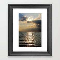 Kattegat Bay Framed Art Print