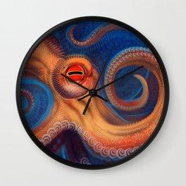 Marine existence Wall Clock