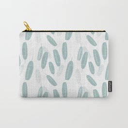 Retro Leaves Pattern Carry-All Pouch