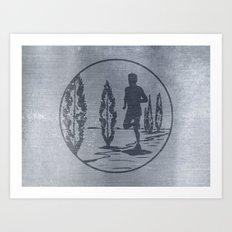 Running Art Print