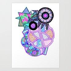 Perps Art Print