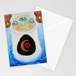 Dreamtime Yeti Stationery Cards