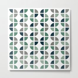 Multi Pattern 2 Metal Print