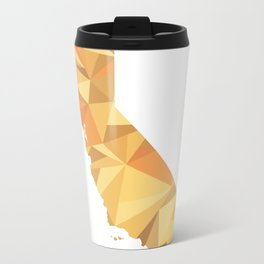 California Pattern Map Art Travel Mug